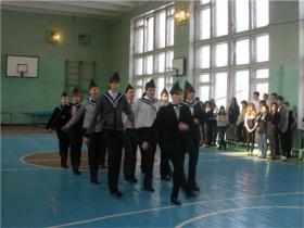 Парад юнармейских войск