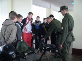 Военные сборы старшеклассников