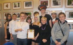 Участие в городской школьной лиге КВН